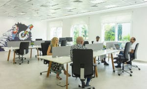gallery photo- coworking with people