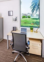 gallery photo- office small desk with view